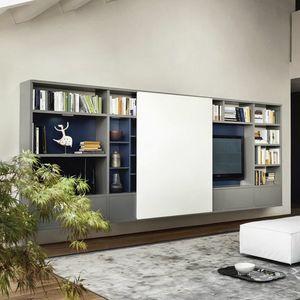 Modo M5C68, Mueble TV con puerta corredera