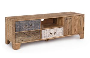Mueble de TV 1A-3C Modez, Soporte de TV en estilo rústico