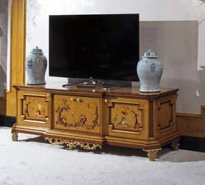Mueble TV 1309, Mueble TV, estilo chino de lujo.