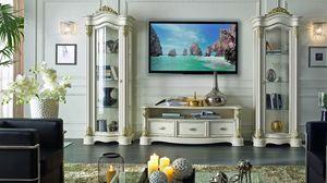Roma Mueble de televisión, Mueble para TV, de estilo clásico contemporáneo.