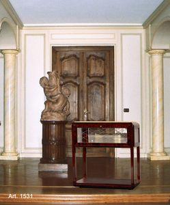 Ruhlmann Art Déco Art. 1531, Mueble de televisión de estilo clásico con ruedas
