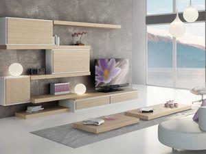 Sistemas Día 04, Muebles modulares de estanterías y unidades de almacenamiento