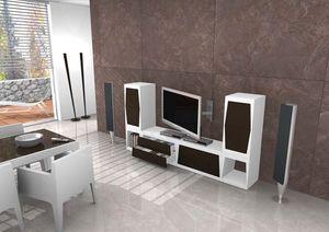 Tower, Soporte de la TV en varios tamaños