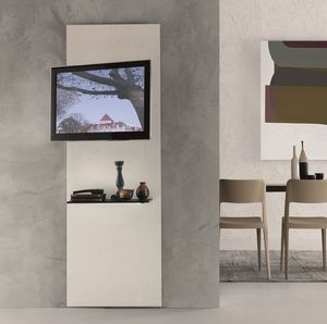 xl97 premiere, Mueble para TV con estante, ajustable a 180 °