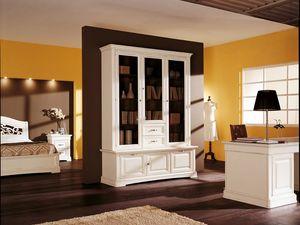 Art.104/L, Mueble de estilo clásico con puertas y cajones
