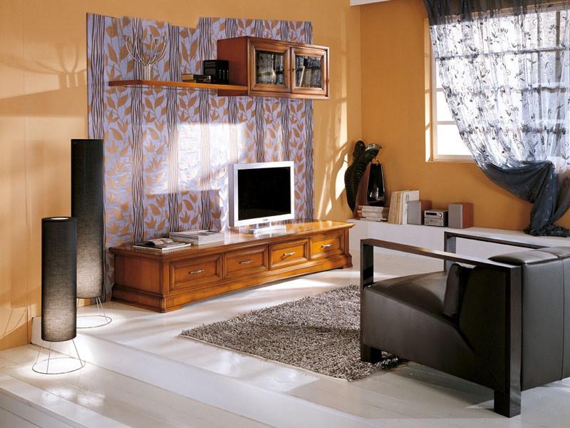Art.107/L, Mueble con cajones y perchas para salas de estar