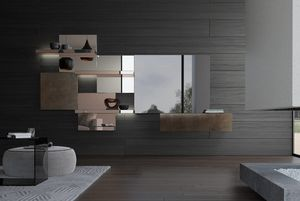Attilio, Sistema modular con espejos
