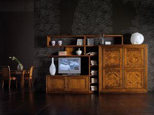 Ca' Venier Art. CV1003, Muebles modulares para salón