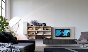 Citylife 01, Sistema modular para la vida moderna, con luces LED