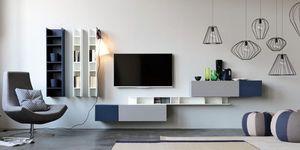 Citylife 14, Los muebles para la sala de estar, de diseño minimalista