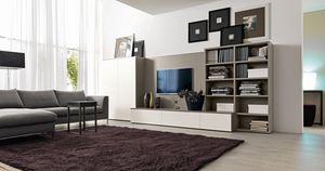 Citylife 41, Muebles sistema para salas de estar con soporte para TV
