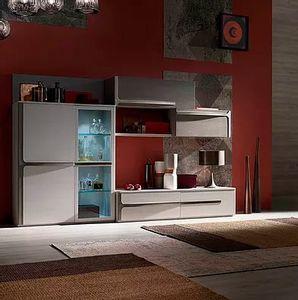 Cleo comp. CL2, Mobiliario modular para salón