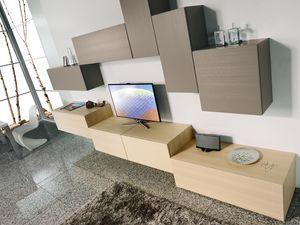 Climb Day 01, Sistema modular para la sala de estar moderna