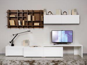 Climb Day 23, Muebles modulares para salas de estar, en estilo minimalista