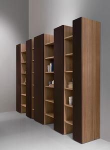 CODE comp.04, Biblioteca moderna, elegante y robusto, para sala de estar