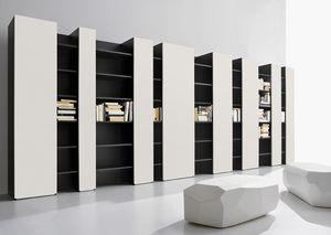 CODE comp.03, Muebles para la vida moderna, de alto diseño, soporte de la TV