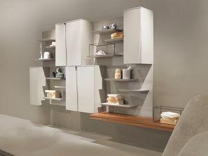 DAY comp.05, Sistema modular de unidades de pared para sala de estar.