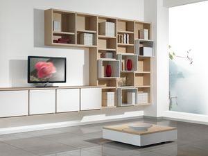 Día Biblioteca 05, Mobiliario personalizable para salas de estar y oficinas