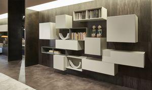 Domino Concept, Muebles de pared para salón