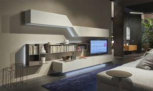 Domino Concept, Muebles de sala con diseño dinámico.