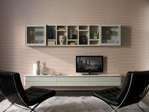 Elettra Art. EL1020, Mueble de pared para sal�n