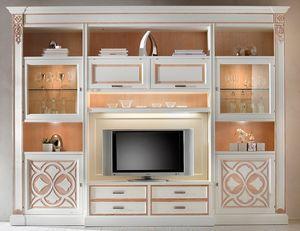 F 04, Muebles de sala, fresno lacado, personalizable