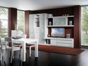 Día Parede 09, Muebles modulares de la sala de estar, una verdadera calidad