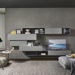 Lampo L5C02, Muebles colgantes para salón