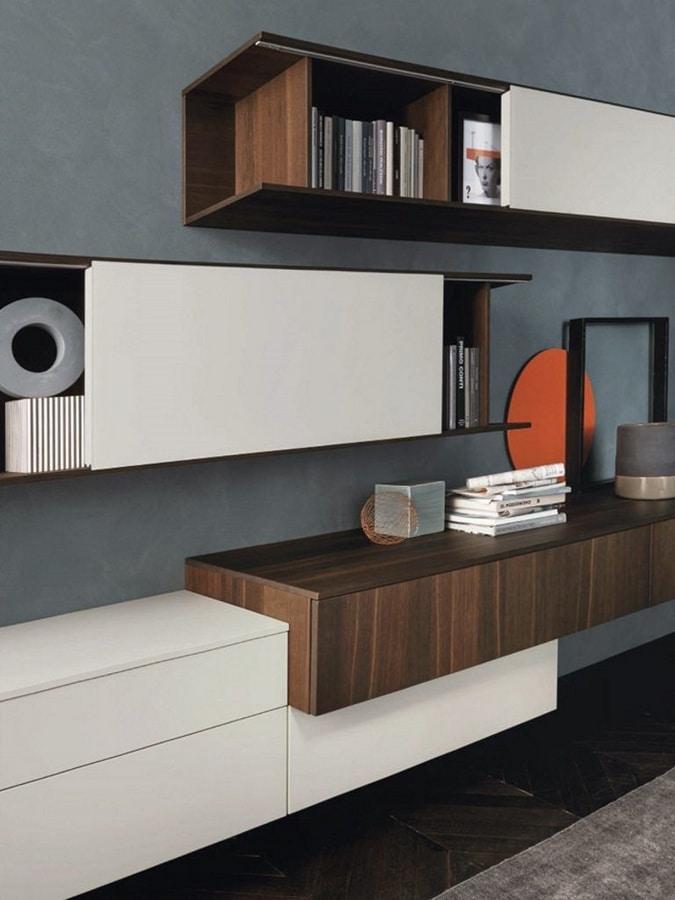 Lampo L5C15, Pared equipada para sala de estar