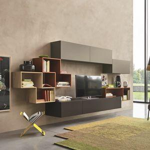 Lampo L5C23, Pared modular para la sala de estar.