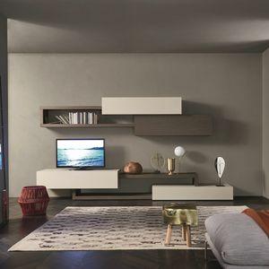 Lampo L5C28, Composición modular para sala de estar