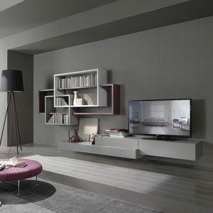 Lampo L5C59, Muebles elegantes para sala de estar.