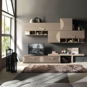 Luna LUNA5060, Muebles de sala con detalles refinados.