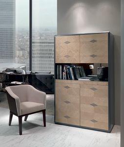 MB58 Desyo Lux, Mueble de bar, con estante retráctil