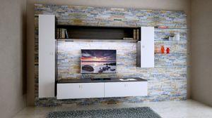 Milano 10, El revestimiento de madera en la roca para la habitación de amor, con unidades de pared