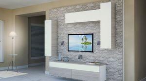 Milano 11, Muebles de sala, con paneles hechos de roca