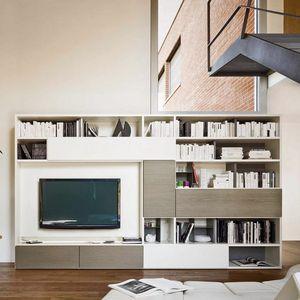 Modo M5C56, Librería con tapa abatible