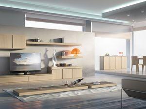 Sistemas Día 01, El sistema de mobiliario para las estancias, modulares, esenciales