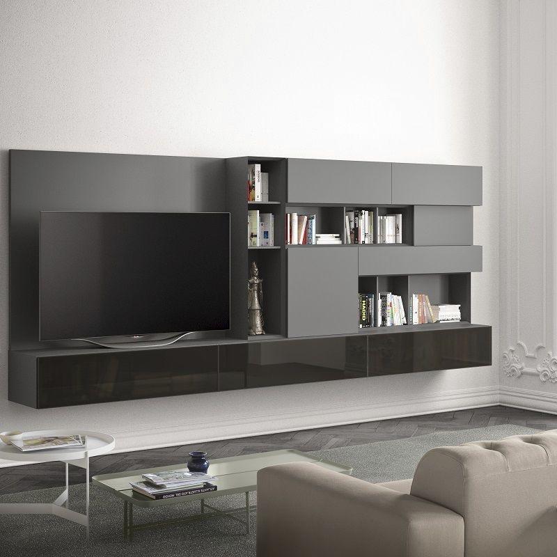 People P213, Mobiliario de sala con módulos horizontales y verticales