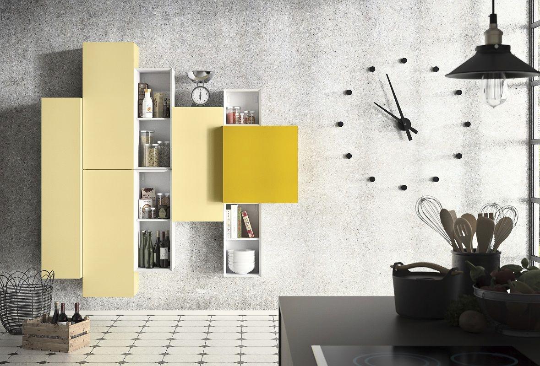 People P205, Muebles design modular para salón moderno