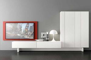 Plinto 1.6 A, Muebles modulares para sala de estar
