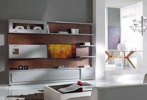 Prima Classe Pared equipada, Unidad de pared para sala de estar, modular
