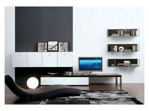 SEVENTY DAY comp.01, Unidad de almacenamiento modular para la sala de estar
