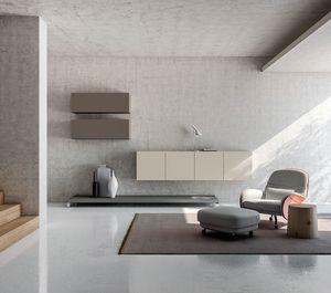 SEVENTY DAY comp.04, Muebles para salas de estar, muebles contenedores modulares