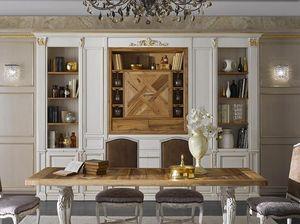 Simon pared equipada, Muebles de sala de estilo clásico