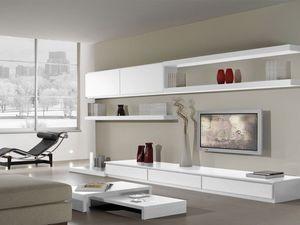 Sistemas de d�a 16, Sistema modular para la sala de estar con estilo moderno