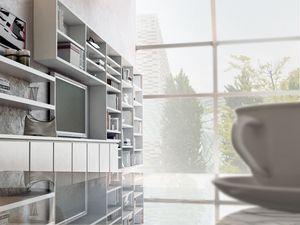 Sistemas Día 06, Sistemas modulares para la sala, con estanterías y armarios