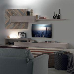 Spazio Contemporaneo SPAZ02, Mobiliario de sala modular