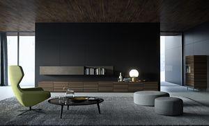 STRIPE gabinete comp.03, Armario bajo para sala de estar, modular