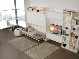 Surf LC442, Mobiliario de sala con litera oculta